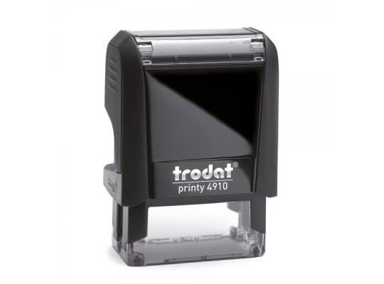 "Trodat 4910 Self-Inking Stamp (1"" x 3/8"")"